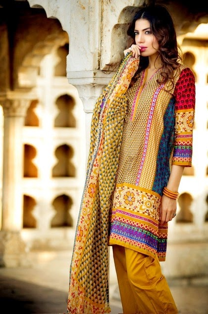 Khaadi Lawn Embroidery Summer Dresses