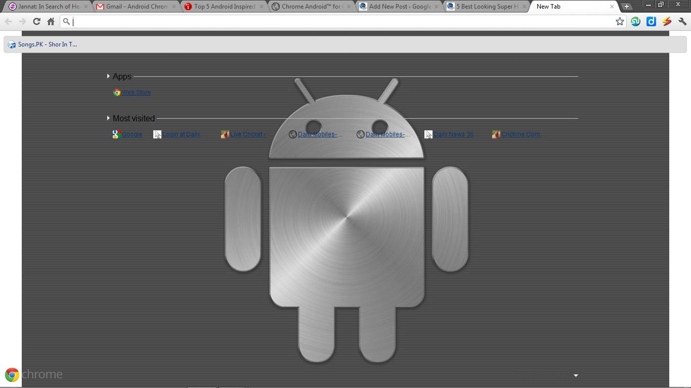 Google android theme for chrome - Chrome Android For Google Chrome