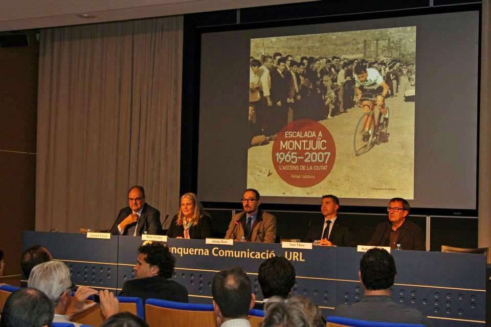 Àlbum de la presentació del llibre Escalada a Montjuïc, l'ascens de la ciutat