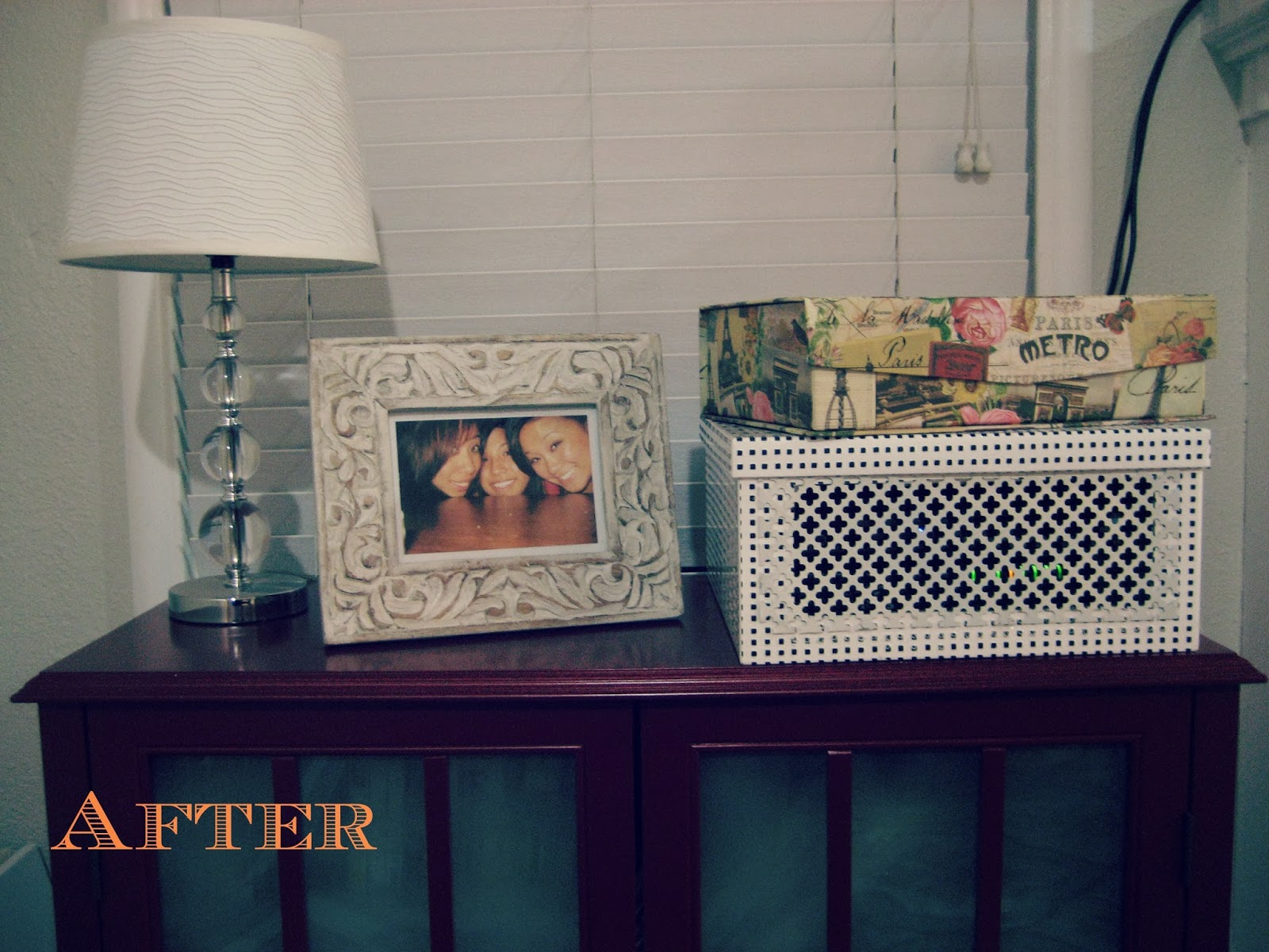 Decorative boxes to hide wires : Life on elizabeth diy cable box cover