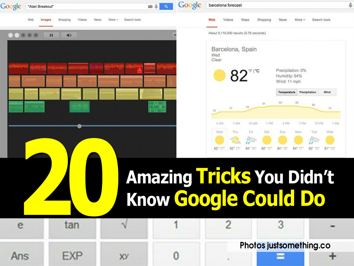 20 Amazing Tricks You Didn't Know Google Could Do ~ Idees ...