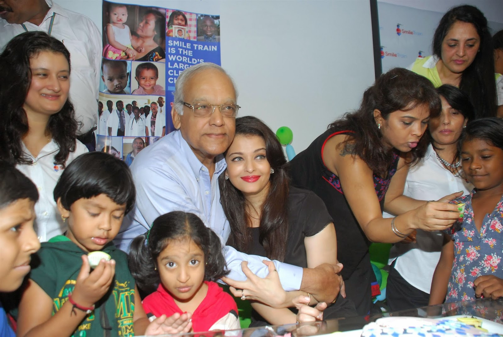 Aishwarya Rai Bachchan gifts 100 surgeries for cleft children