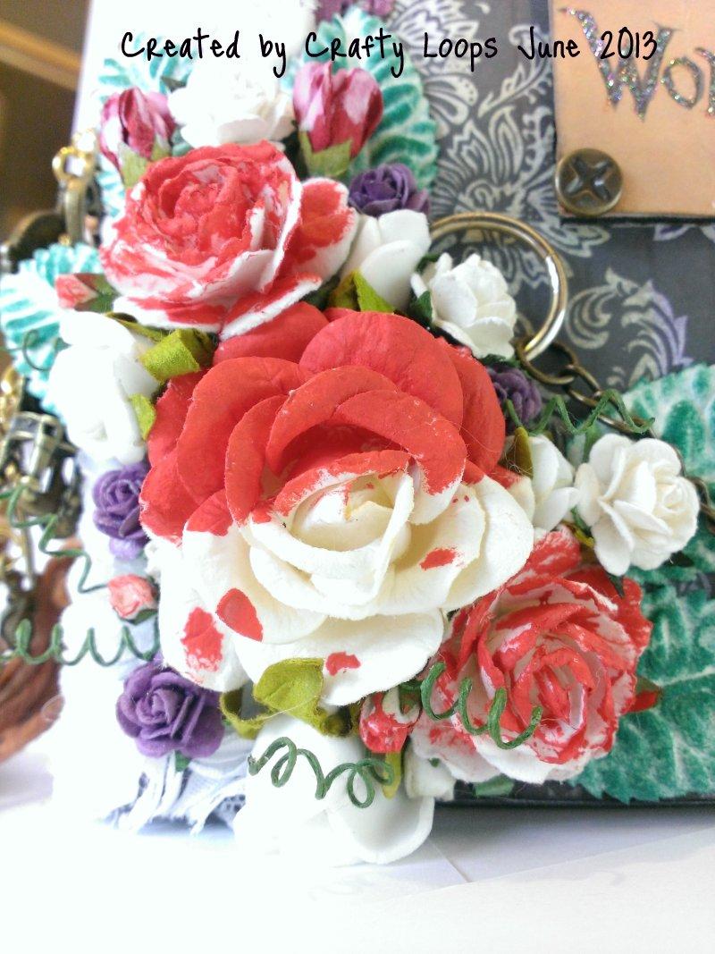 crafty loops alice in wonderland mini album