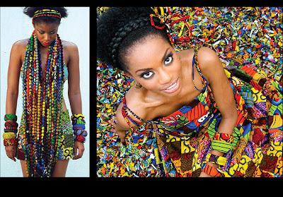 Ituen Basi beads and bangles