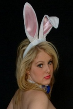 Happy Easter 2013 From Huge 32JJ's Tits Bunny Dream Of Ashley!