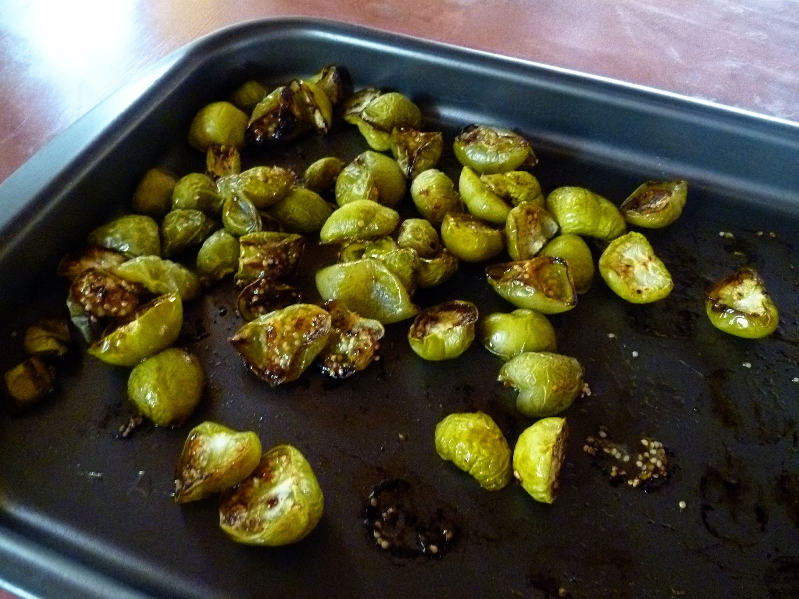 how to cook tomatillos in the oven