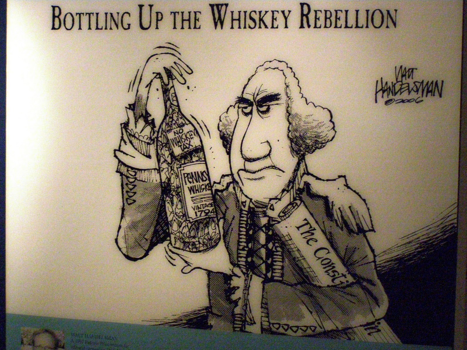 Thesis of the whiskey rebellion