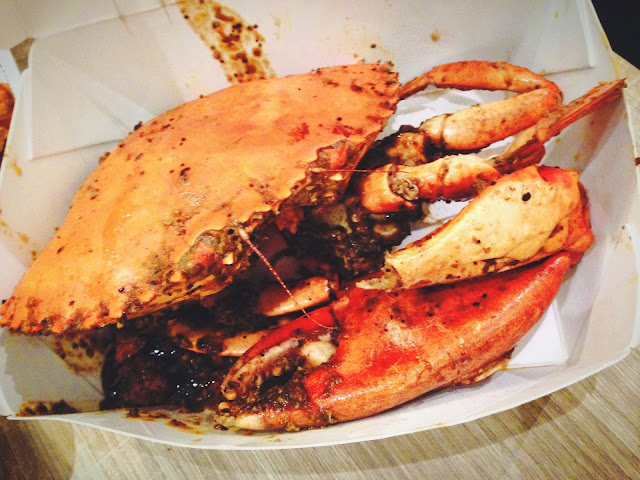 Momma Kong's Black Pepper Crab