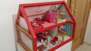 Manualidades para regalar, casita de muñecas