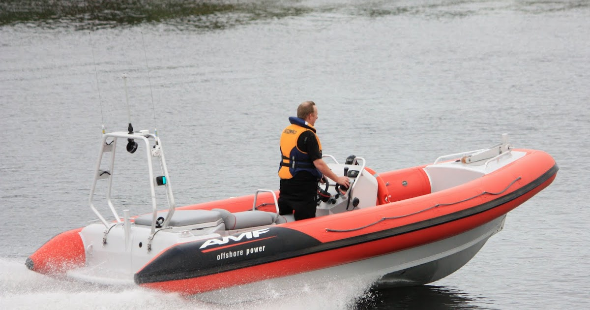 AMF Boats - Alloy Boat Builders: AMF Expand Tender Range with Release of New 580 RIB