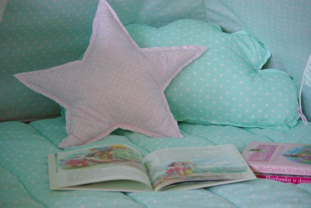 poduszki do tipi, poduszka gwiazda, poduszka chmura
