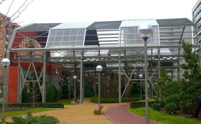 Edificios reconvertidos jardin
