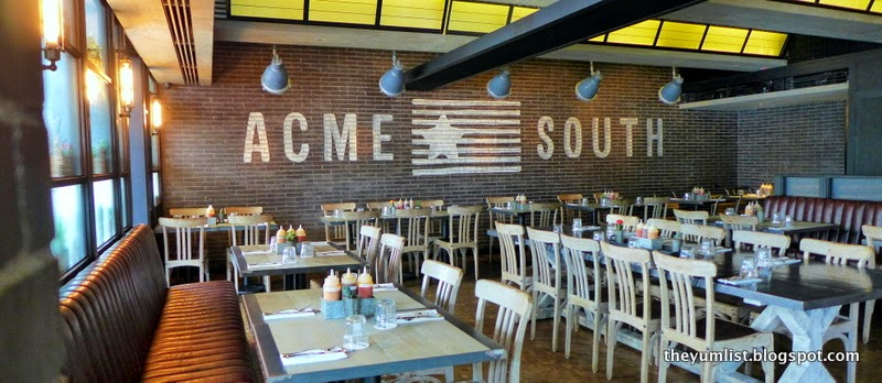 Acme South, Texan and Southern US Cuisine, Bangsar