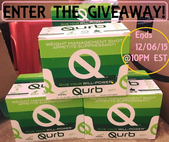 http://loveandlipgloss14.blogspot.com/2015/11/qurb-shot-giveaway-curb-your-appetite-this-holiday-season-giveaway.html