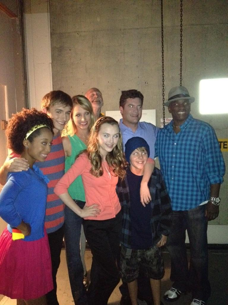 NickALive!: Photographs From The Set Of Nickelodeon's ...