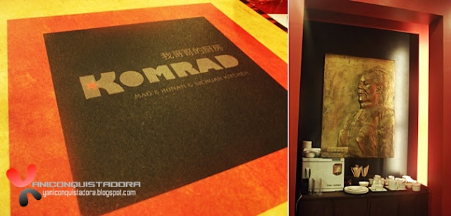 KOMRAD Mao's Hunan and Sichuan Kitchen in Il Terrazzo Mall, Tomas Morato