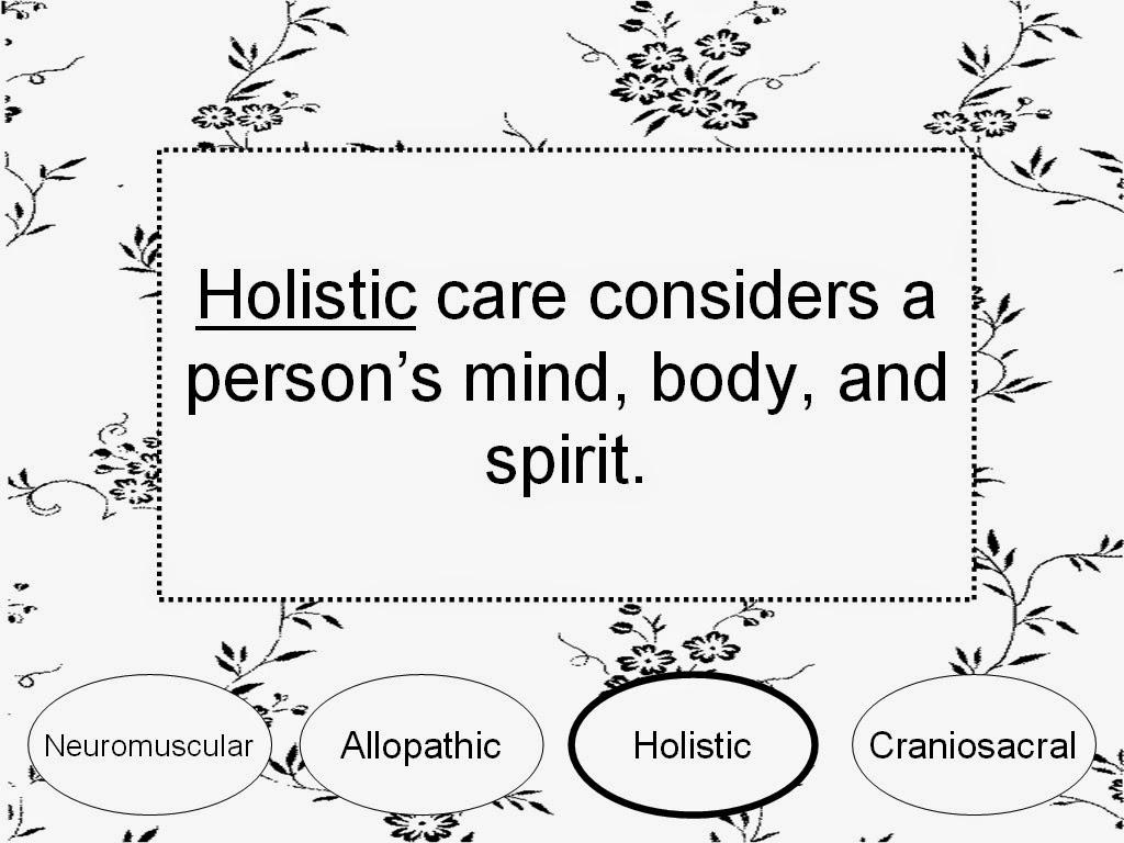 holistic: definition of holistic medicine