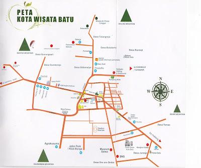 Peta Wisata Batu Malang