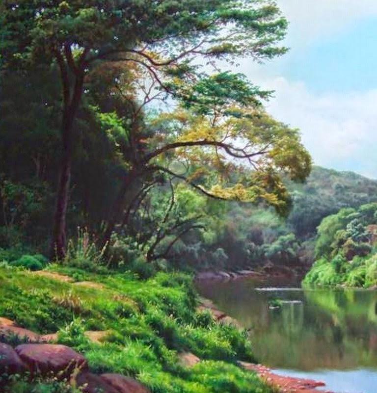 pinturas-al-oleo-selva-amazonas