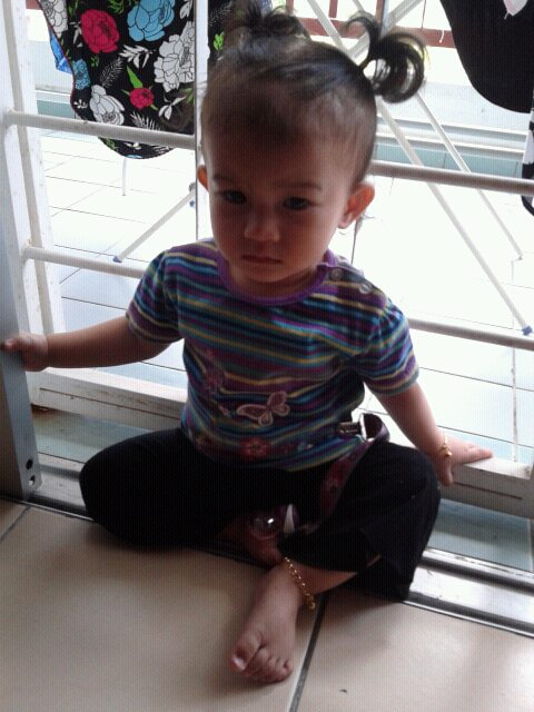 My Little Anggun Qaseh Is Turning One Today!!