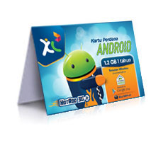 paket internet xl android