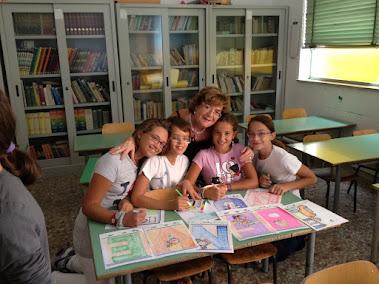 """Benvenuti a scuola! i """"grandi"""" aiutano a preparare l'accoglienza per i piccini!"""