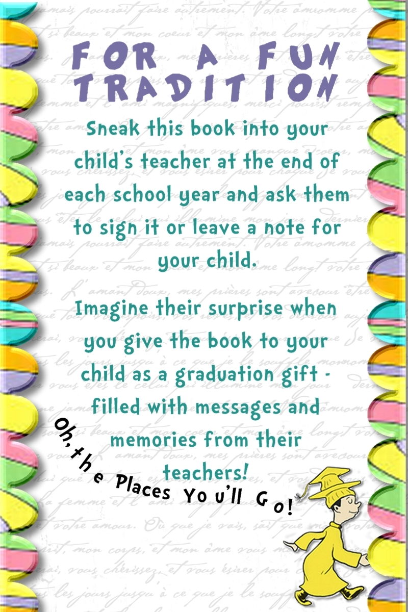 "Fill My Cup: Championing our Children: An ""Oh The Places ..."