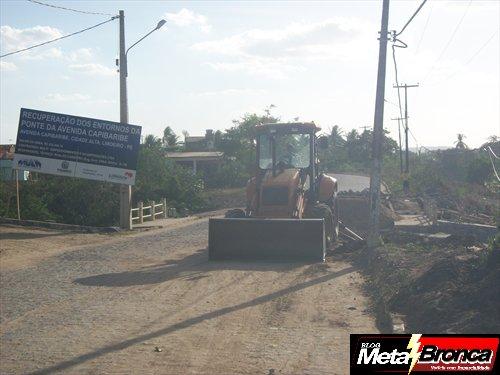 Após Denuncia Prefeitura Recomeça obra do Pontilhão da Av. Capibaribe.