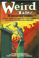 'Weird Tales: 32 Unearthed Terrors' edited by Stefan Dziemianowicz, et al.
