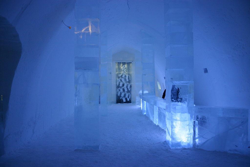 Ice Hotel Sorrisniva,Sweden