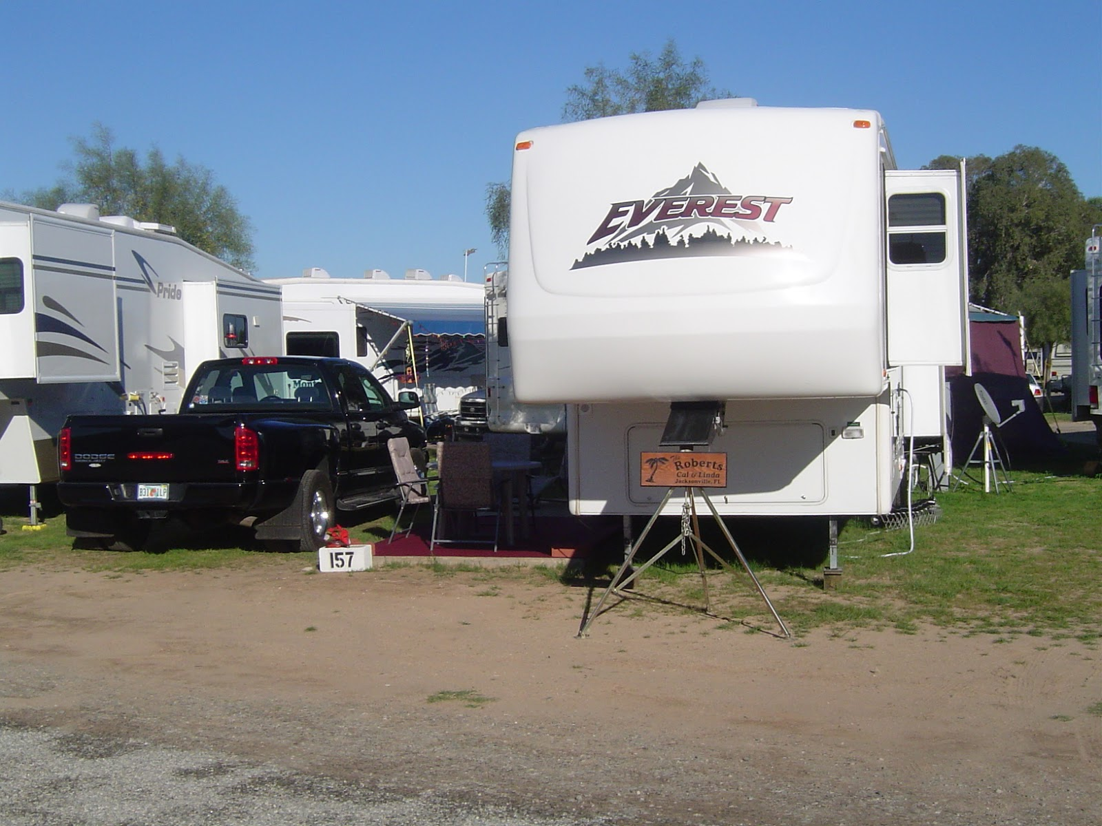 Stories About Our Rv Parking Places June 2015