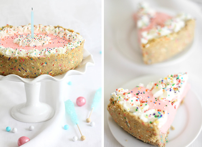 No Bake Strawberry Milk Cheesecake Sprinkle Bakes
