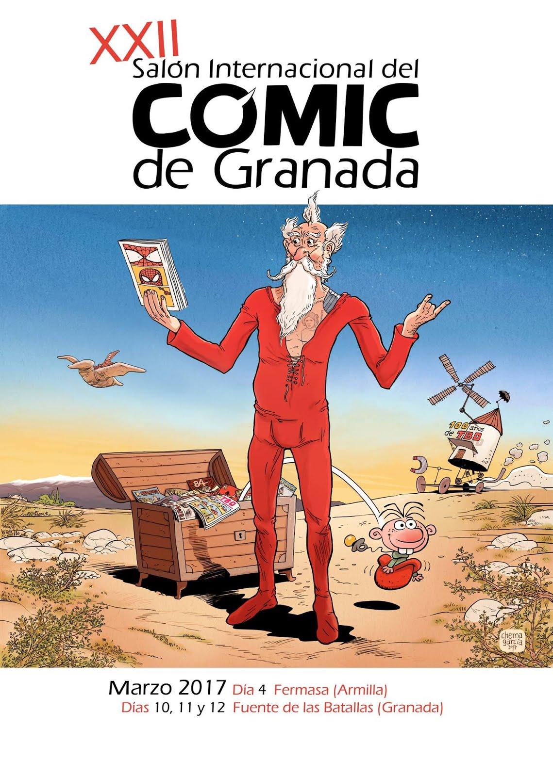 Asistiremos a XXII Salón del Cómic de Granada