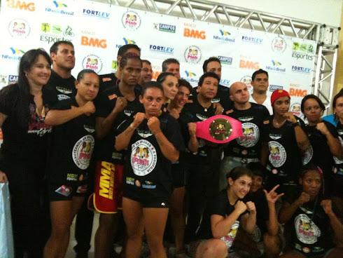 MMA / FEMININO - Pink Fight - Campos dos Goytacazes/RJ