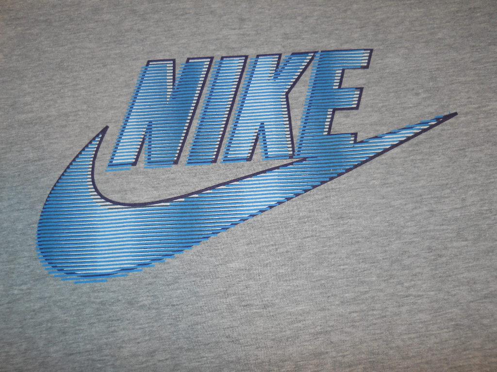 Blue Nike Logo