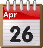 Σαν σήμερα στην ιστορία 26 Απριλίου