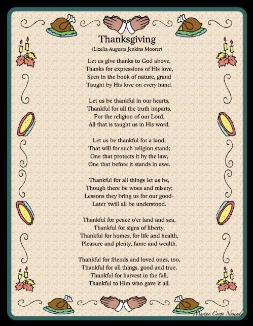 Top Funny Thanksgiving Poems For Kids About Turkeys
