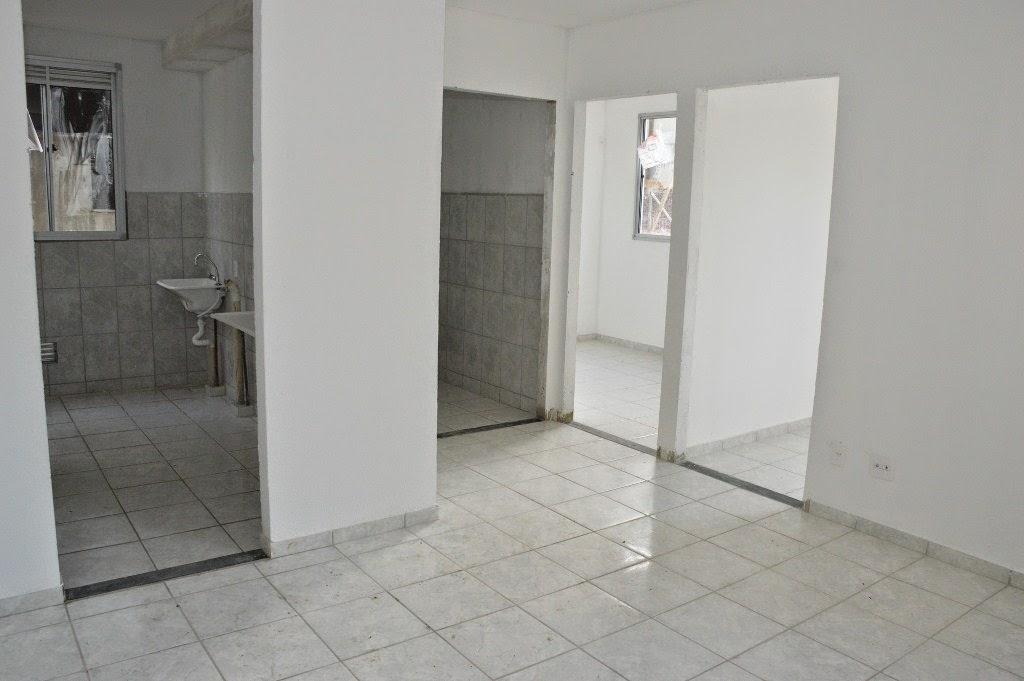 Oitenta apartamentos já estão na fase de acabamento