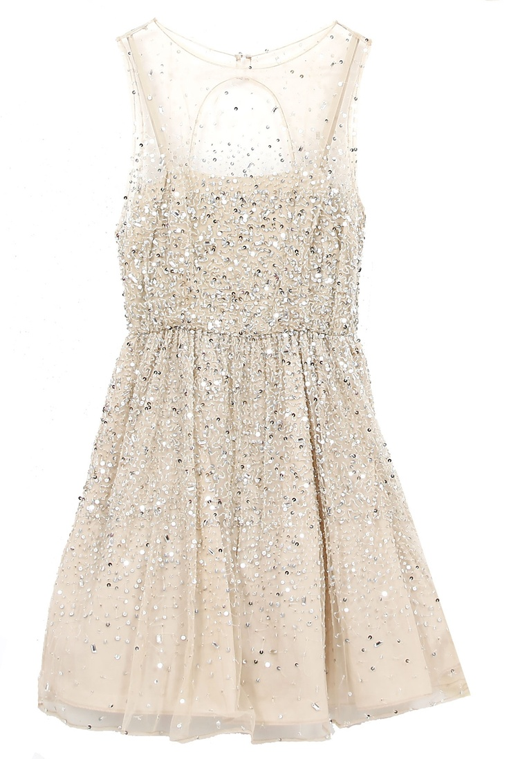 Gorgeous Glittering Embellished Party Dress