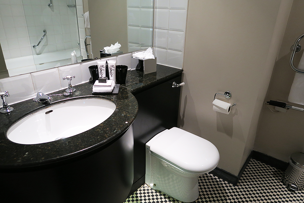 Bathroom at Malmaison Leeds