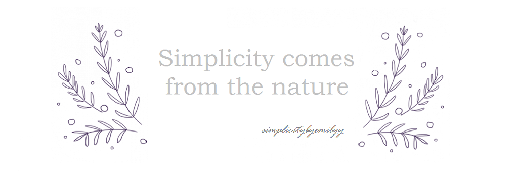 Simplicity comes from the nature