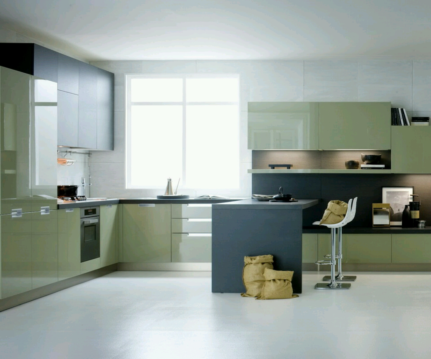 Modern furniture modern luxury kitchen cabinets designs for Luxury modern kitchen