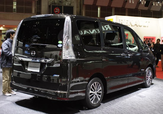 The Nissan Serena 2014 is