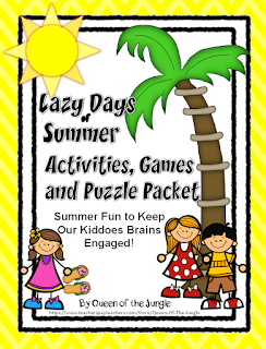 https://www.teacherspayteachers.com/Product/Summer-Packet-Activities-Games-and-Puzzles-1248395