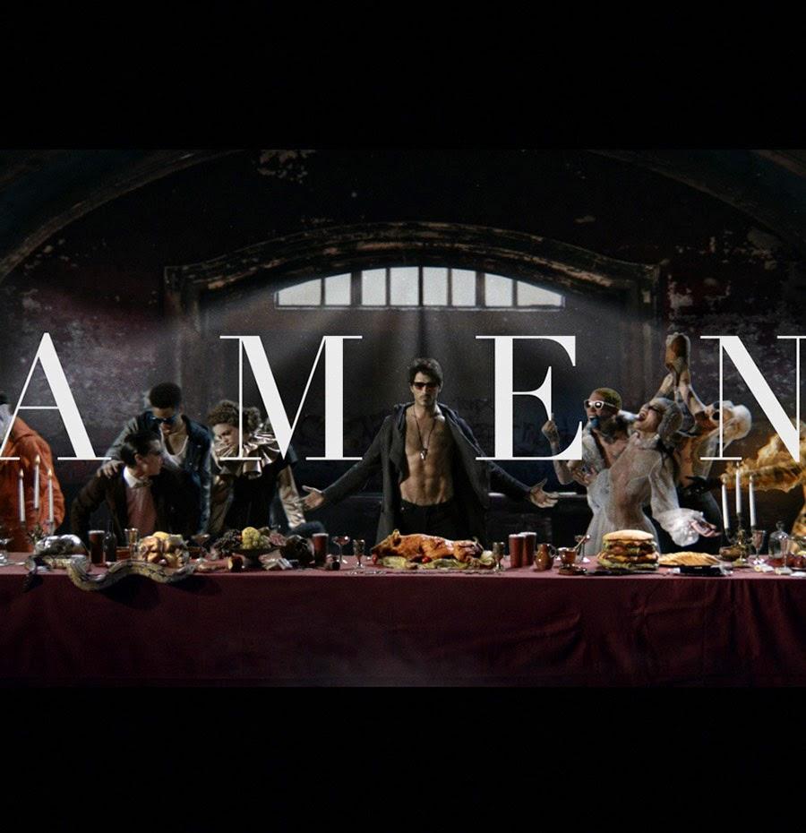 AMEN - Andrés Velencoso protagoniza el espectacular anuncio navideño de Hawkers Co.