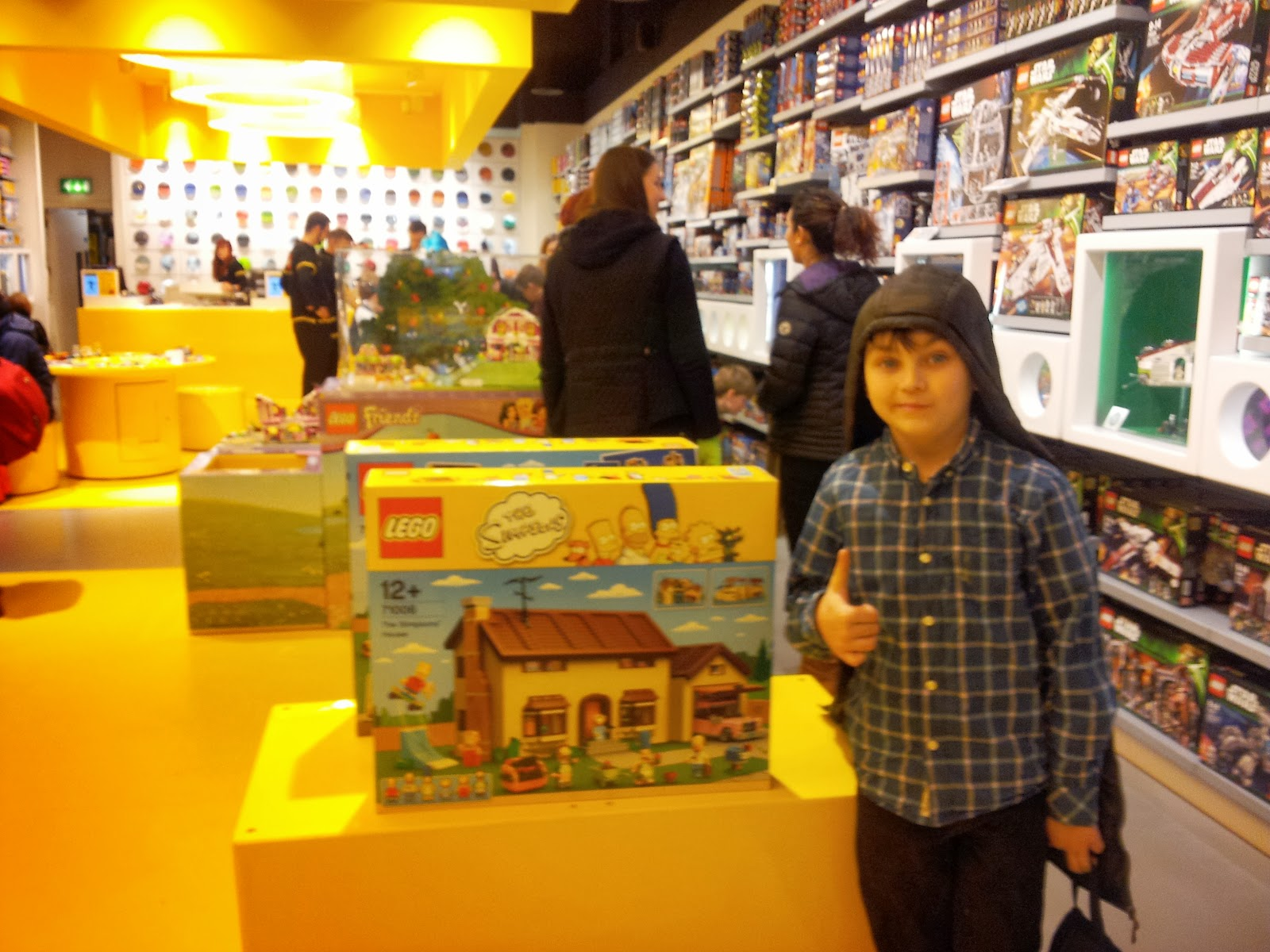 Cardiff Half Term St Davids Centre Wales Lego Stores Pick n Mix Simpsons Lego