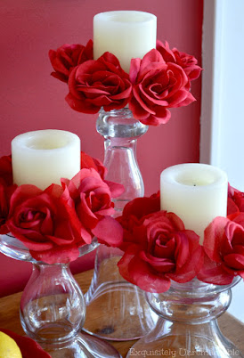 Floral Candle Rings