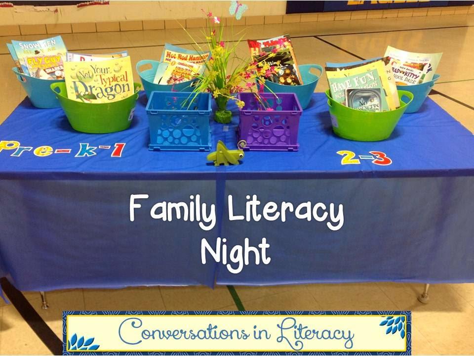 Family Literacy Night Conversations In Literacy Bloglovin