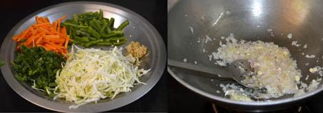 julienne vegetable for noodles