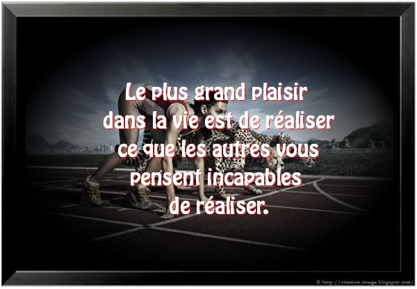 Citation plaisir en image